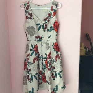 NWOT ModCloth floral fit and flare dress